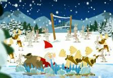 Sky Christmas Idents - Volley
