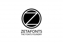 Zetafonts website